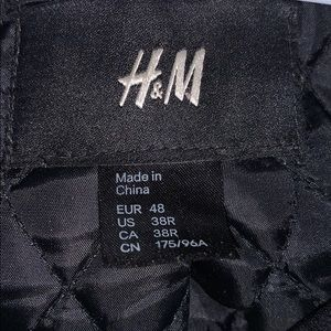 H&M Jackets & Coats - H&M zip up jacket/coat
